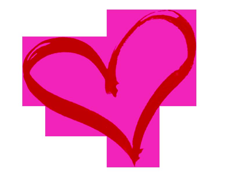 800x600 Hearts Clipart Drawn Heart