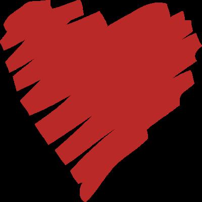 400x400 Drawn Heart Clipart
