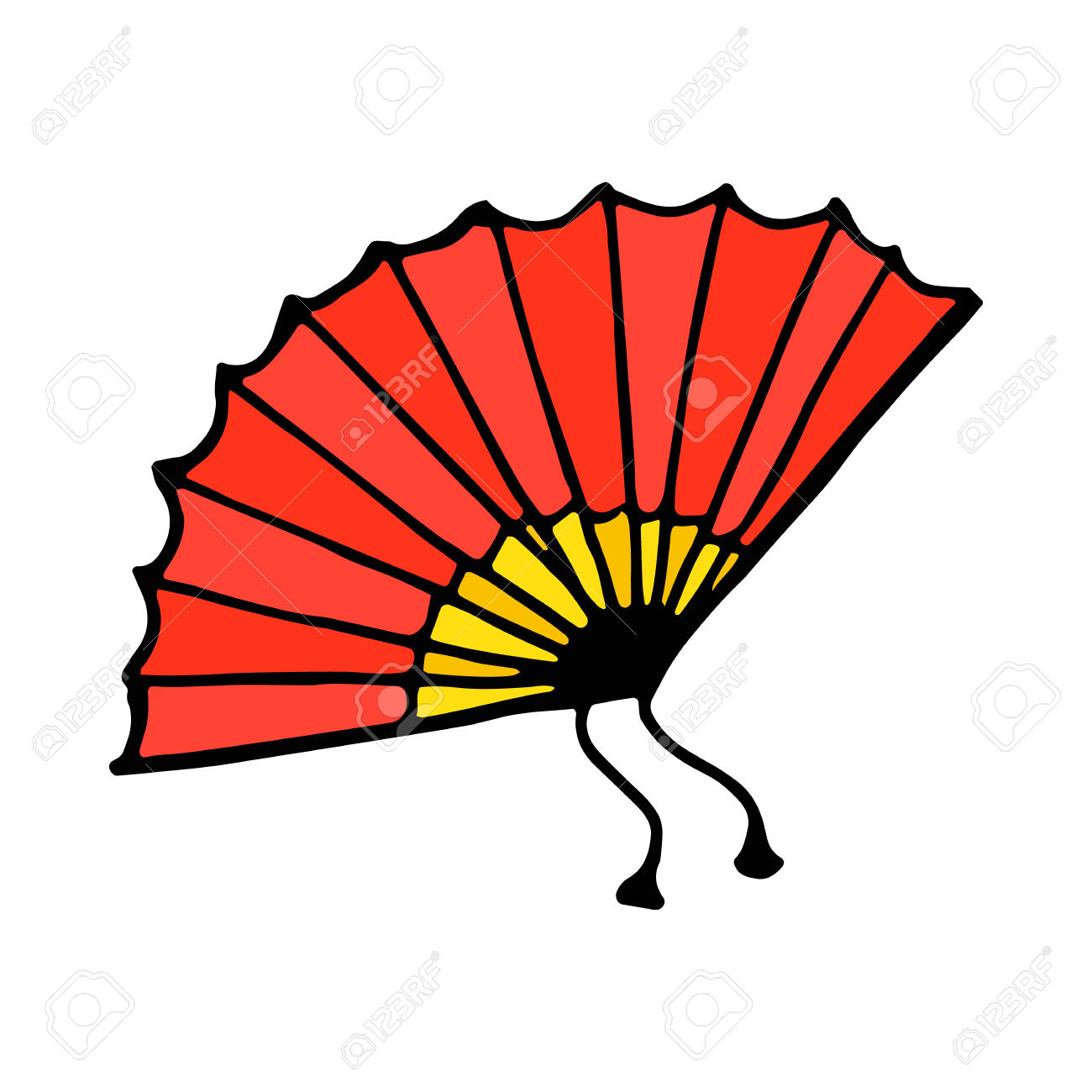 1300x1300 Fan Clipart Flamenco