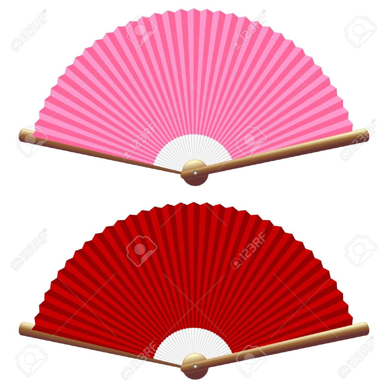 1300x1300 Fan Clipart Red Hand