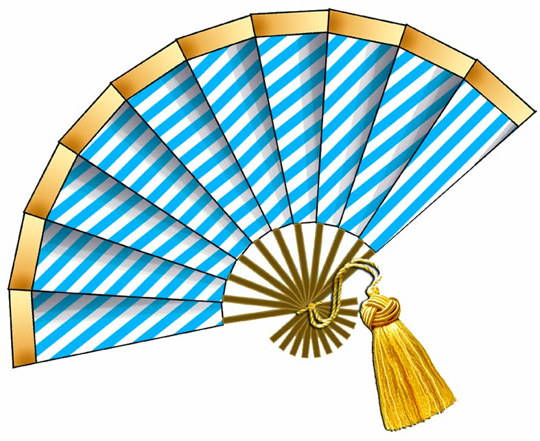 787x643 Fans Clipart Illustration