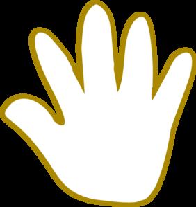 282x299 Hand Clip Art