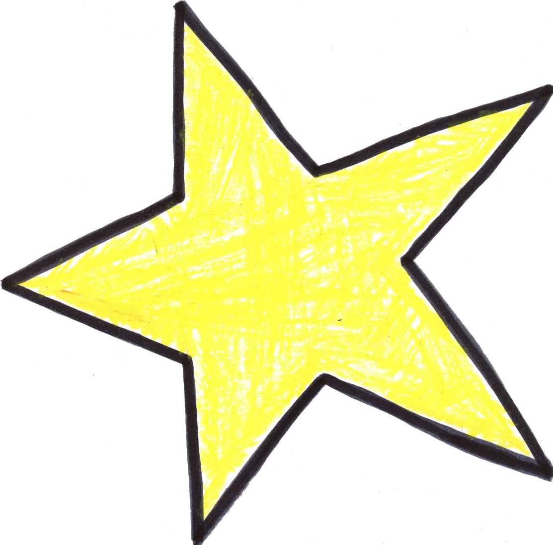 1113x1096 Hand Drawn Star Clipart