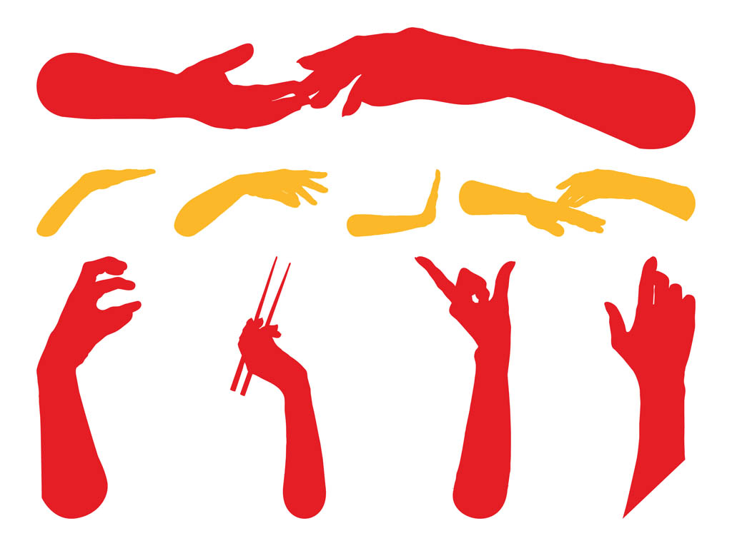 1024x765 Hands Silhouettes Free Graphics Vector Art Amp Graphics