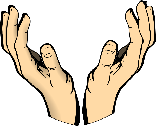 600x486 Outstretched Hand Clipart Free Clipart Images