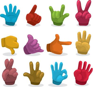 395x368 Cartoon Hand Gesture Free Vector Download (18,488 Free Vector)