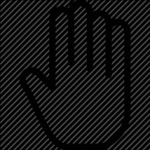 512x512 Creative, Finger, Fingers, Five, Five Fingers, Gesture, Grid, Hand