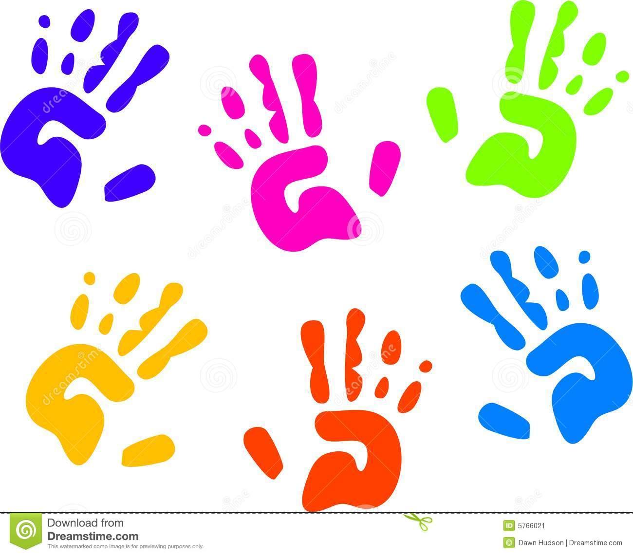 1300x1142 Child Handprint Clipart