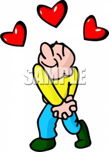 Hand Over Heart Clipart