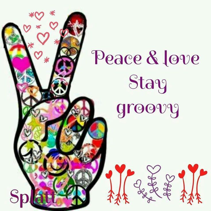 736x736 Peace Sign Clipart 70'S