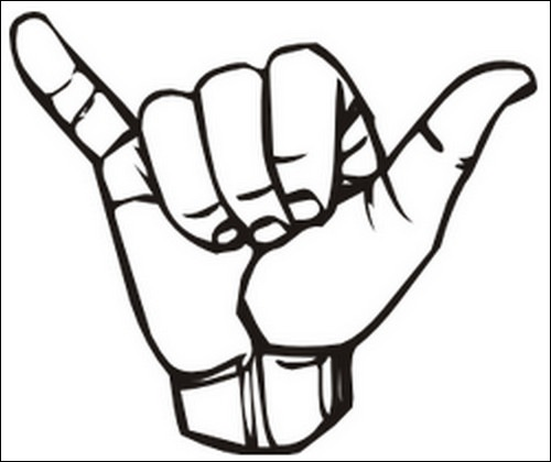 500x420 Peace Sign Clipart Two Finger