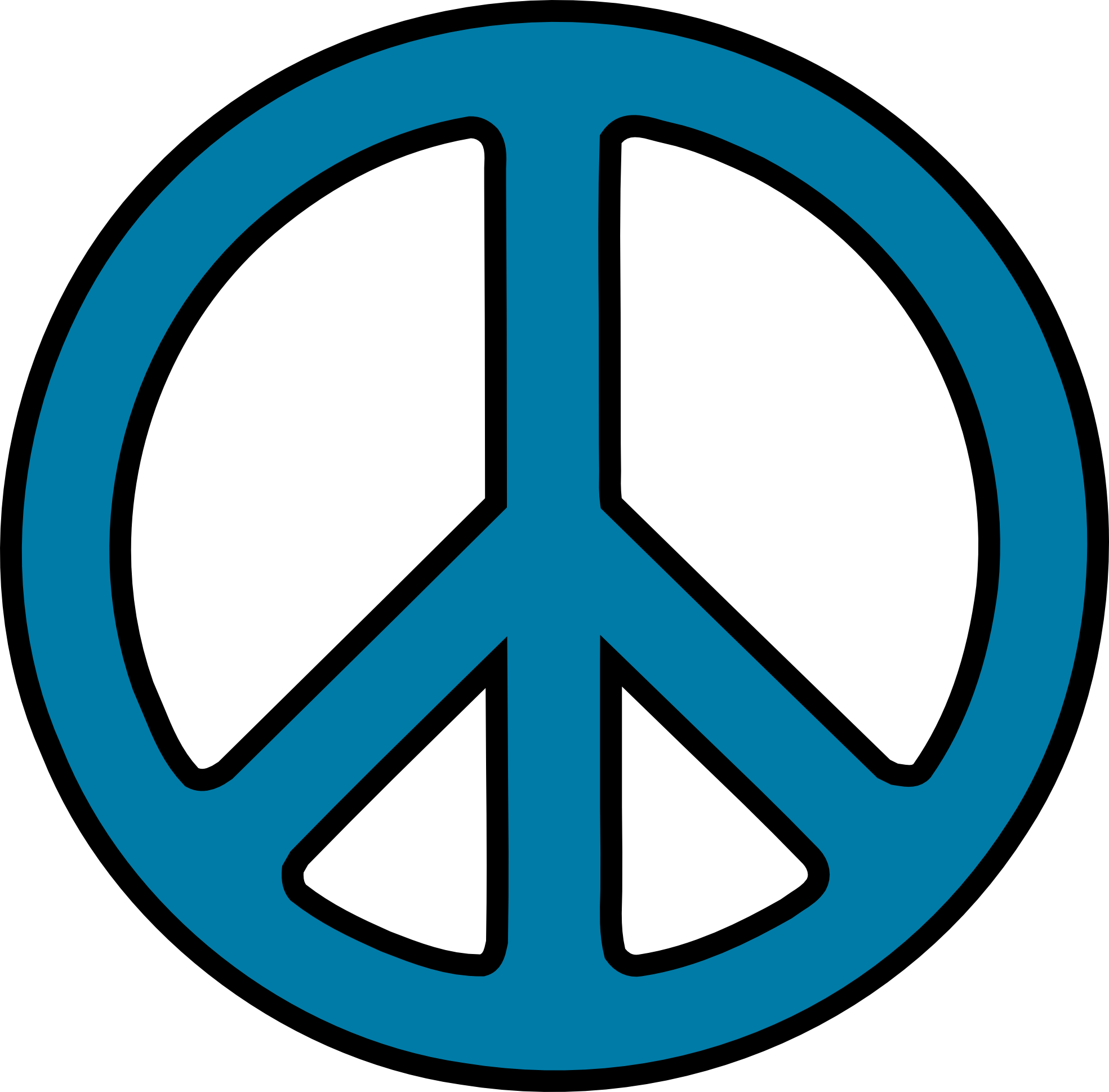 1969x1939 Peace Sign Clipart