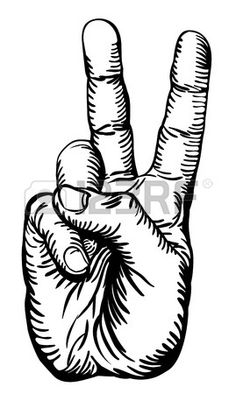 236x394 Skeleton Hand Peace Sign Bones Patch P9090 Jacket 5 Biker