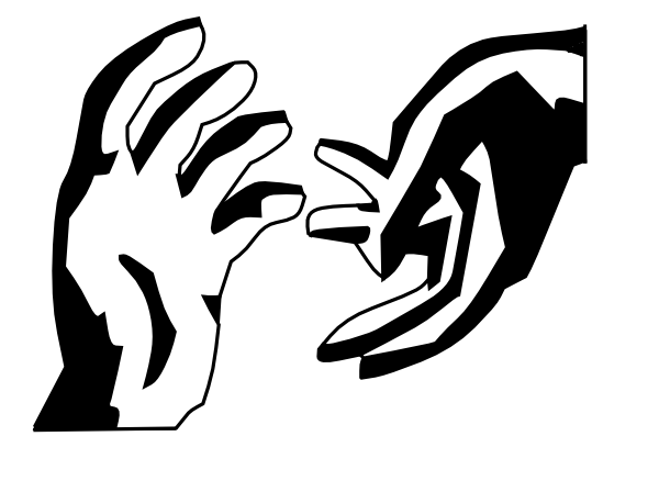 600x438 Hand Reaching Out Clipart