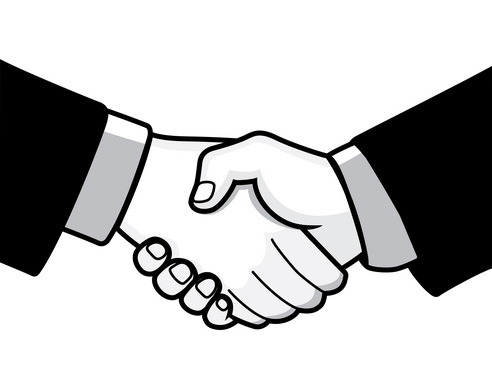 492x390 Images Handshake Free Download Clip Art