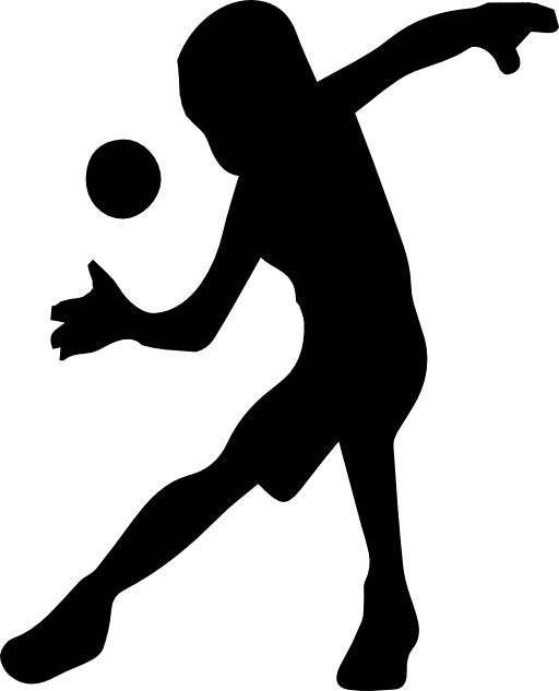 512x633 Handball Silhouette Clipart i2Clipart