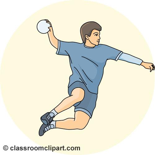500x499 Handball Images Clip Art