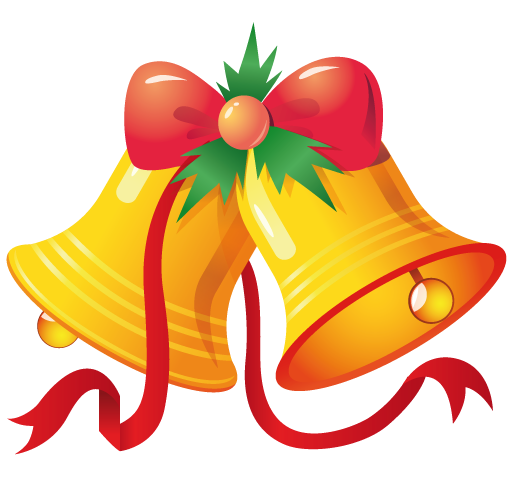 512x480 Bell Clipart Christmas Bell