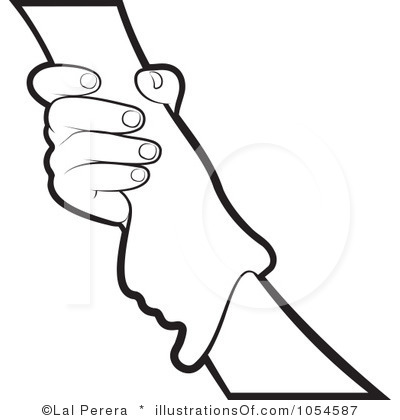 400x420 Helping Hands Clip Art In Circle Royalty Free (Rf) Helping Hand