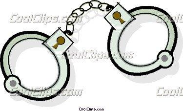 375x227 Lovely Handcuff Clip Art