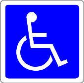 170x169 Handicapped Clip Art