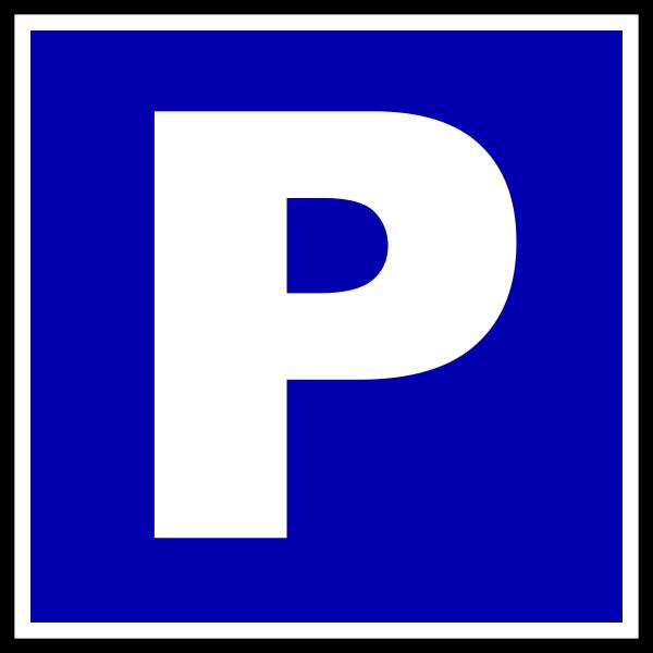 600x600 Parking Clip Art