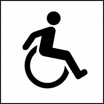 350x350 Clipart Handicapped