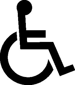 261x298 Wheelchair Symbol Clip Art