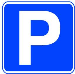 255x253 Parking Sign