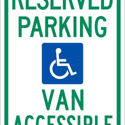 250x250 Eye Bus S Sign No Parking Handicapped Parking Signs By Sequoia