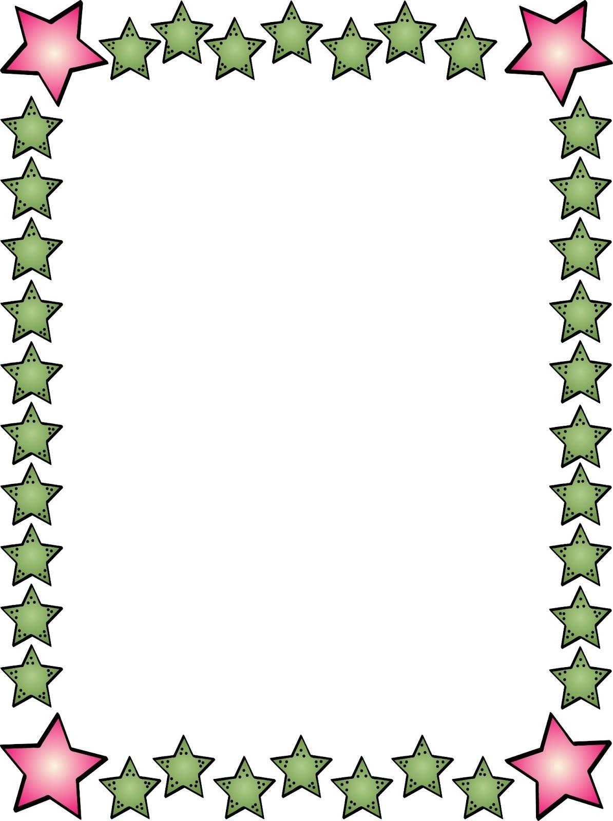 1194x1600 Free Clip Art Borders Stars Bordes Y Marcos