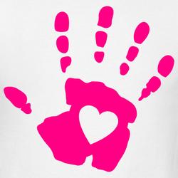 250x250 Hand Heart Clip Art Cliparts