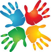 167x170 Handprint Clip Art