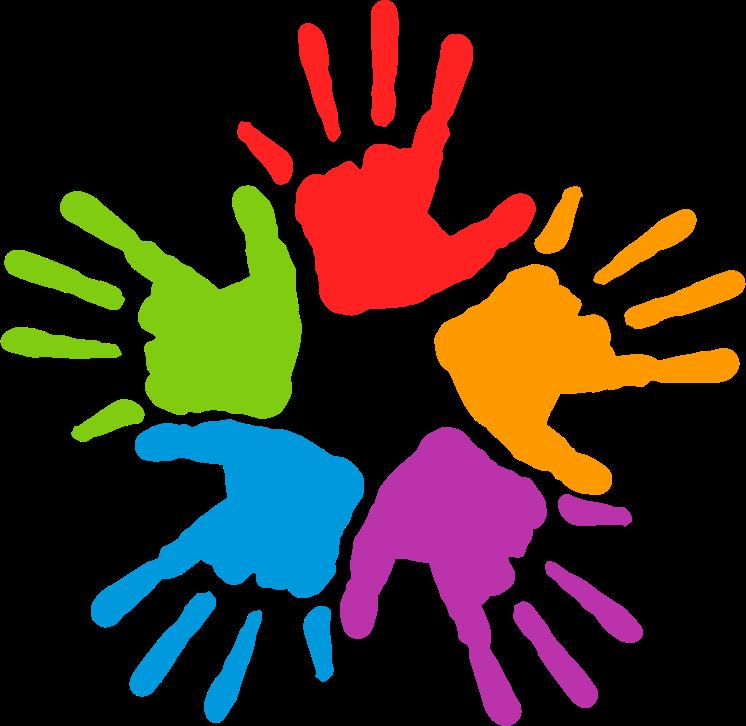 746x726 Handprint Clipart Unity Hand Logo