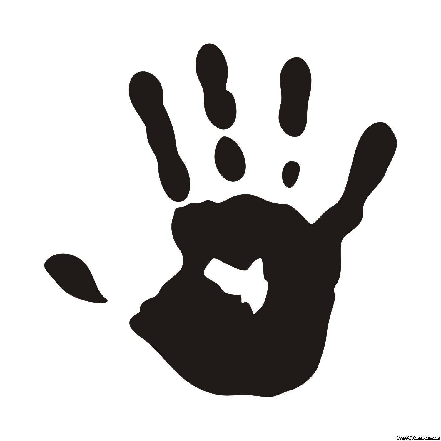 236x312 Free Black And White Clipart For Teachers 564x597 Handprint 1500x1500 Vector Baby
