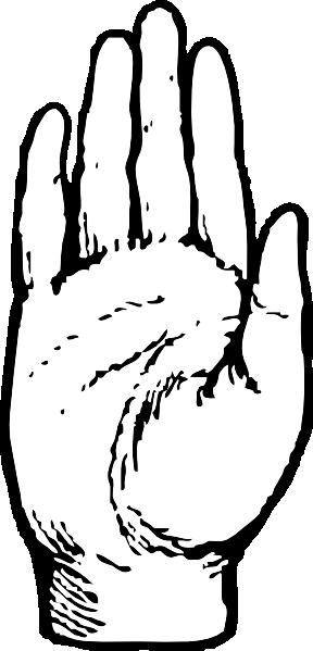 288x599 Handprint Clipart Pledge