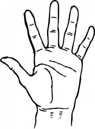 312x425 Right Hand Clip Art, Free Right Hand Clip Art