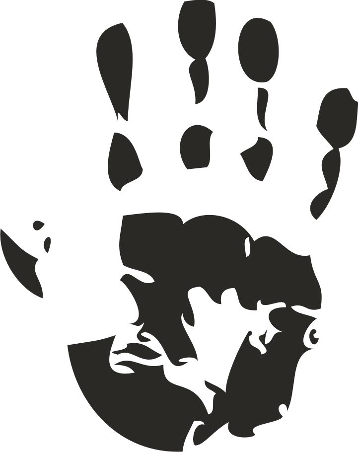 721x910 Hanprint Clipart