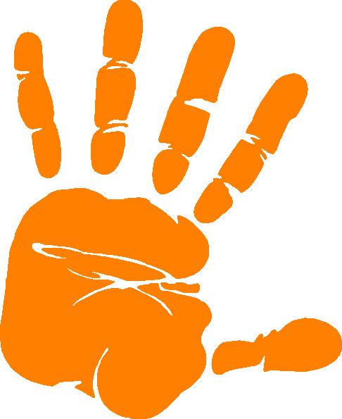 486x595 Hand Print Clip Art