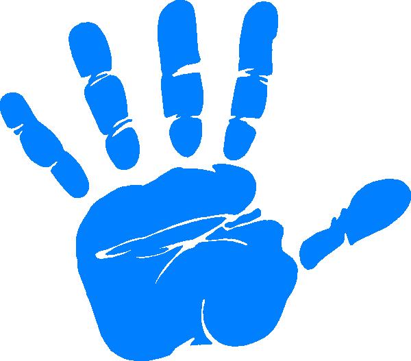 600x527 Handprint Clipart