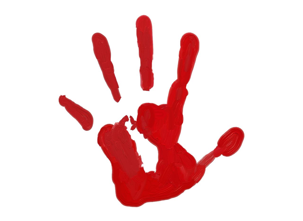 1280x934 Handprint Clipart Paint
