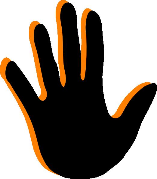 522x596 Handprint Clip Art