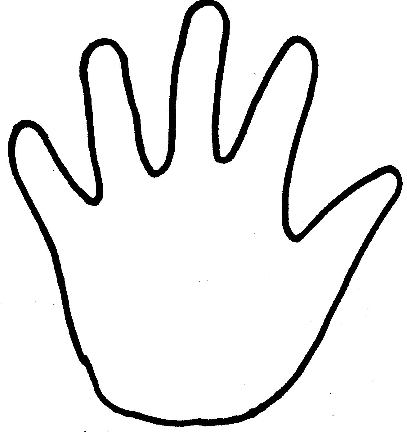 photograph relating to Handprint Printable identify Handprint Template Totally free down load ideal Handprint Template