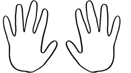 259x144 Hand Templates Group (10+)