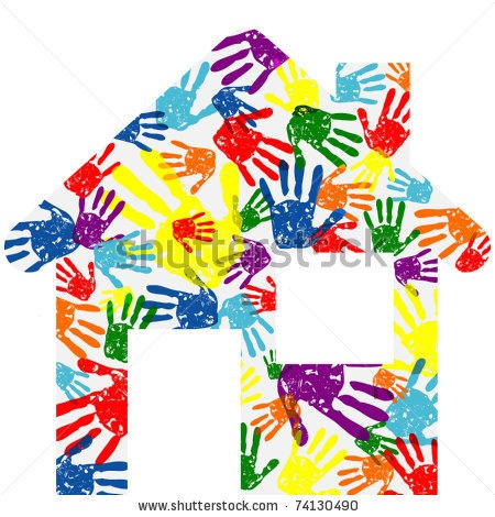 Handprints Clipart