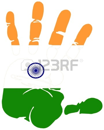 360x450 7,404 Handprint Stock Vector Illustration And Royalty Free