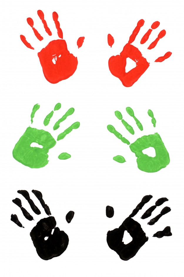 626x942 Handprint Vectors, Photos And Psd Files Free Download