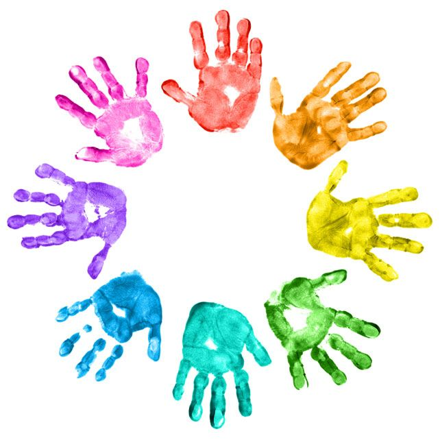 642x642 Handprint Clipart Service Project