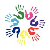 170x170 Clipart Of Colorful Children Handprint K5454022
