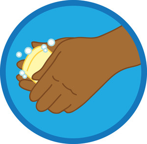 300x293 Washing Hands Clipart Image